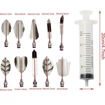 10pcs Set Gelatine/Jelly Art Tool Set