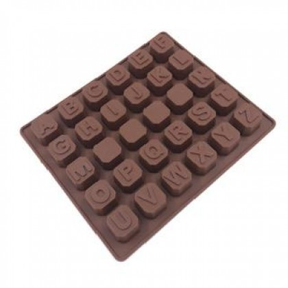Alphabetical Silicone Chocolate Mould